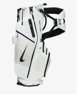 2020 Nike Air Hybrid Carry Stand Cart Golf Bag 14 Way White