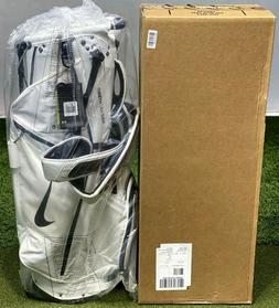 Nike 2020 Air Hybrid Stand Carry Golf Bag White/Black 14-Way