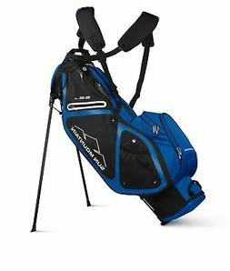 2020 Sun Mountain Golf 3.5 LS Zero-G Stand Bag - Black-Cobal