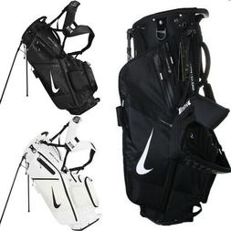 Nike Air Hybrid Golf Caddie Club Bag Black White OSFM CV1514