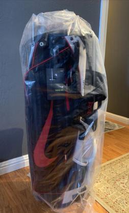 Nike Air Sport Golf Stand Bag - NEW - Platinum Tint Black Gy