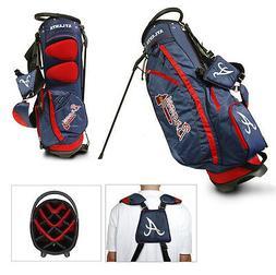 Authentic MLB Team Golf Atlanta Braves Stand Golf Bag - NEW