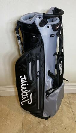 Titleist Black and Red 4UP Stadry Lightweight Stand Bag With