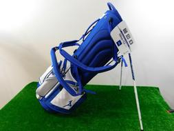 Mizuno BR-D3 Carry Stand Bag. 4 Way Top. Royal/White. New.