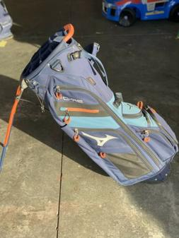 Mizuno BR-D4 14 Way Stand Golf Bag Navy/Steel Blue