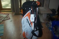 BRAND NEW  Wilson Ionix Light  stand bag  White / Orange / B