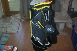 BRAND NEW  Wilson Nexus 3 stand bag  Black / Yellow