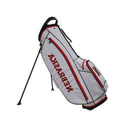 Bridgestone 2019 Collegiate NCAA 9 In 4 Way Stand Golf Bag w