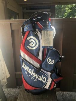 Cleveland CG LT Stand Golf Bag - Red/White/Blue - 14 Way Div