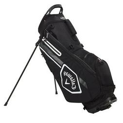 Callaway Chev Stand Golf Bag - Black/Charcoal/White - New 20