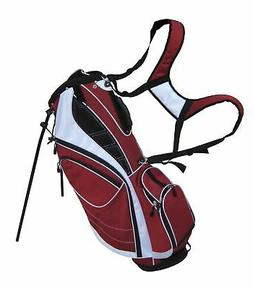 Precise Edge Lightweight 8-Way Top Divider Golf Stand Bag w/