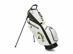 Callaway Fairway C Double Strap Stand Golf Bag 2020 - White/