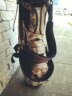TaylorMade FlexTech Lifestyle Golf Stand Bag Digital Camo Ni