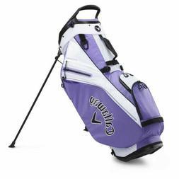 Callaway Golf 2020 Fairway 14 Stand Bag-Lilac-White 5120081