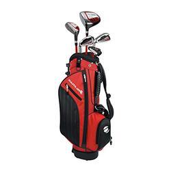 Orlimar Golf ATS Junior Boy's Red/Black Kids Golf Set