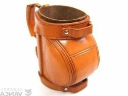 Golf Bag Handmade Leather Eyeglasses Holder/Stand *VANCA* Ma