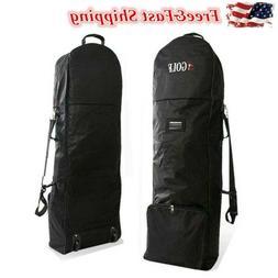 Golf Bag Travel Cover Air flight Cover Case Wheels Protect B
