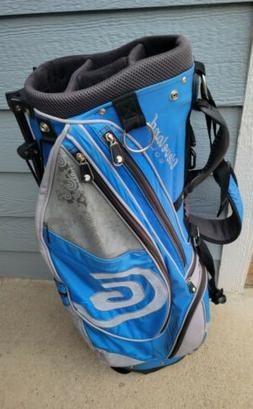 ⛳Cleveland Golf Blue/White 14-Way Top Golf Stand Bag Multi