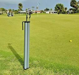 Golf Club Holder Organizer  | Putter / Wedge Stand | Tri-Sti
