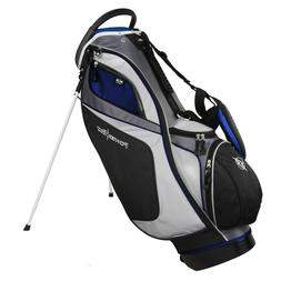 NEW PowerBilt Golf Dunes Stand / Carry Bag 14-way Top Black