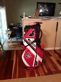 Wilson Golf EXO Carry Stand Bag New