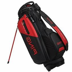 PING Golf Men's Stand Caddy Bag 9.5 x 47 inch 4.2kg Black Re