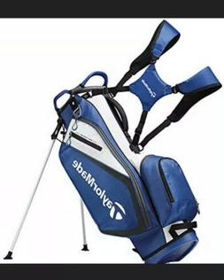 TaylorMade Golf Select Stand Bag Blue/White 2019 Free Shippi