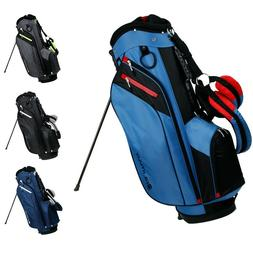 Orlimar Golf SRX 7.4 Golf Stand Carry Bag Navy Black Blue Ch