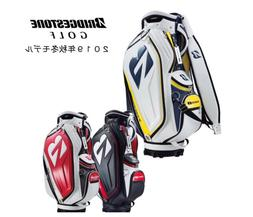 BRIDGESTONE Golf Stand Caddy Bag TOUR B Pro Replica Model CB