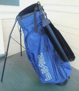 PING HOOFER 2 STAND BAG /  4 WAY DIVIDE / NAVY BLUE / INCLUD