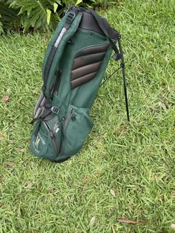 Ping Hoofer Vantage Stand Carry Bag Green  W/ 5 Way Dividers