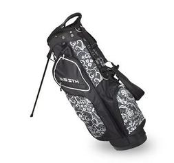 Hot-Z Ladies 2.0 Lace Stand Bag Black/White