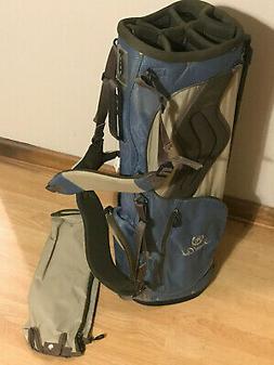 Hot Z Lite Lightweight Stand Golf Bag Laurel Oak Embroidered