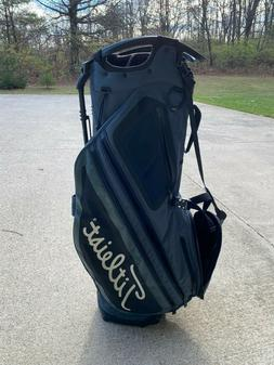 Titleist Hybrid 14 Stand Bag Charcoal / Blue / Black Lightly