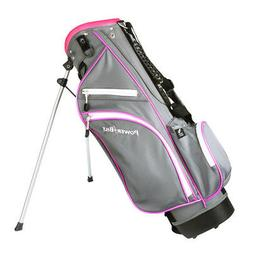 PowerBilt Junior  Pink Stand Golf Bag
