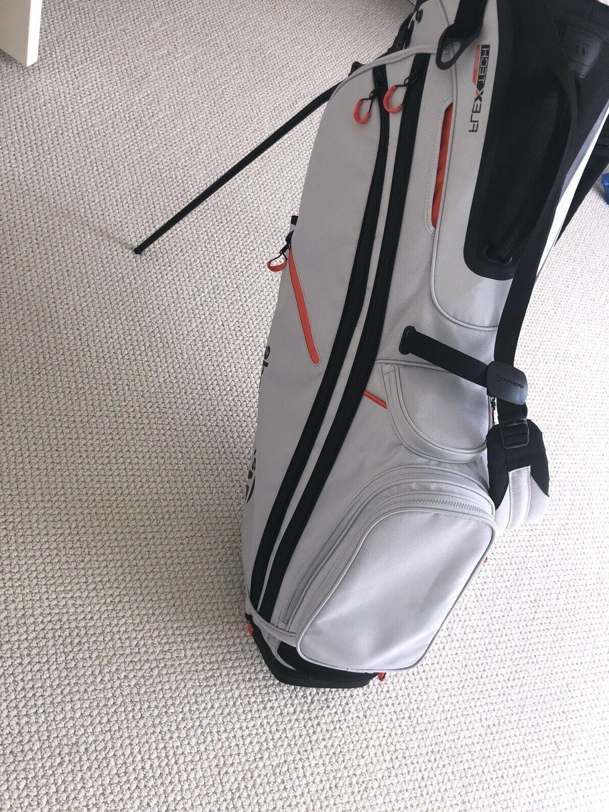 TaylorMade Crossover Stand Silver Blood