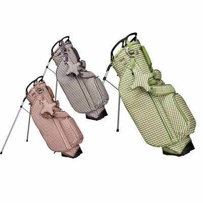 2019 women checkwave stand bag new