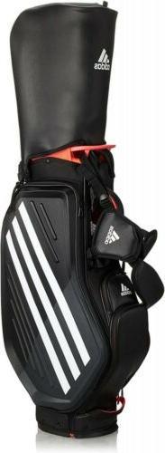 2020 ADIDAS Golf JAPAN GUW09 Caddy Bag Stand Bag Black x Whi