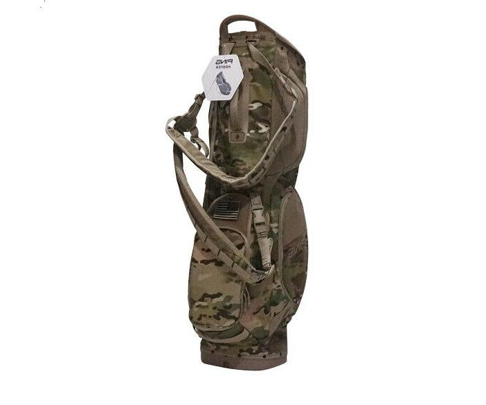 Ping Hooper Men's Bag 5-Way 300D 5lbs 35x88x20cm / Khaki