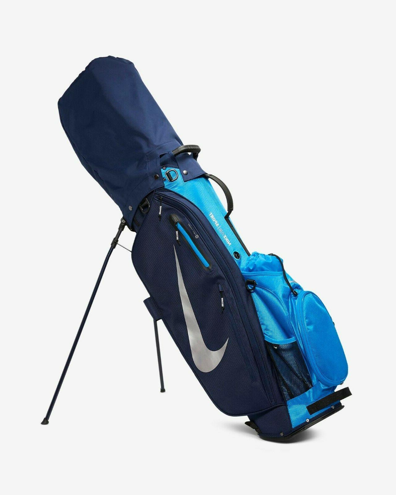 Nike Air Sport Golf Bag Navy Chrome