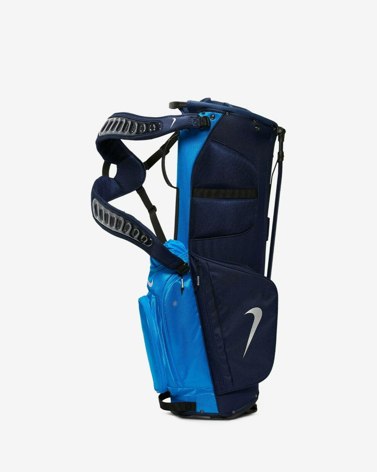Nike Air Sport Bag Pop-out Blue Navy Chrome