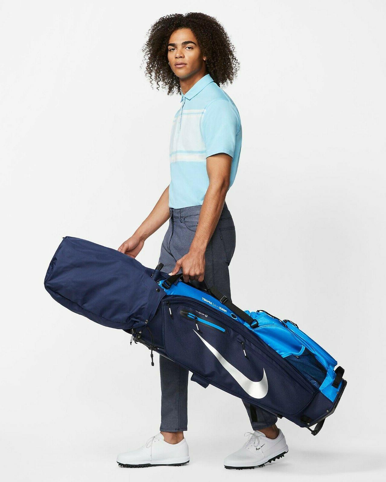 air sport golf bag pop out stand