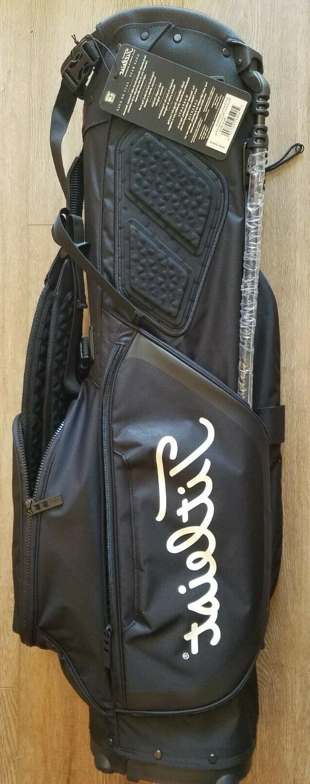 BRAND WITH TAG 2020 PLAYERS STAND BAG BLACK/BLACK $200