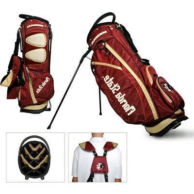 fsu florida state seminoles golf stand bag