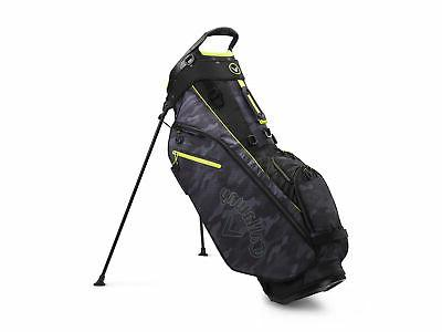 golf 2020 fairway stand bag black camo
