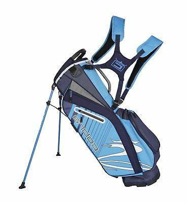 golf 2020 ultralight stand bag peacoat ibiza