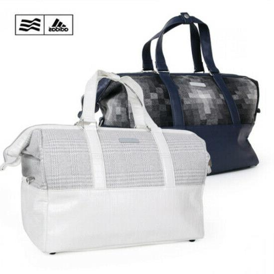 golf boston bag adipure mens white navy