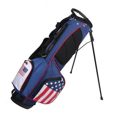 Prosimmon Golf Lightweight Bag with - USA Flag