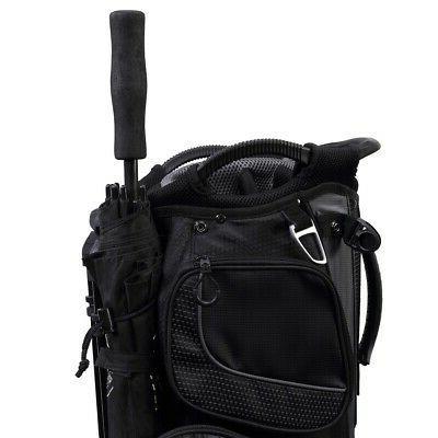 MacGregor Stand / Golf Bag with Way Black