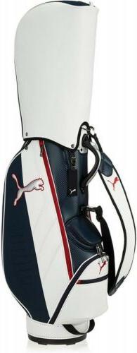 PUMA Golf Men's Caddy Bag CB Core 9 x 47 inch 3.1kg 867751 W